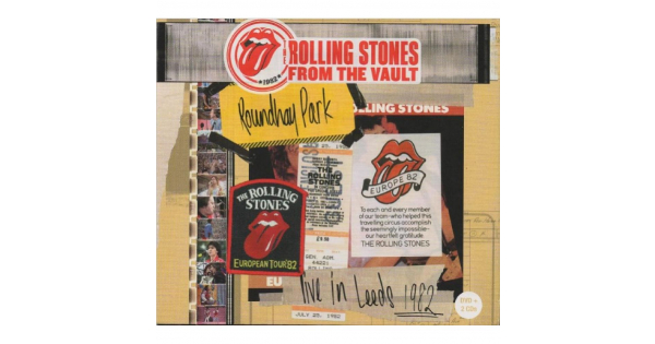 THE ROLLING STONES ROUNDHAY PARK - DVD ROCK + 2 CDS